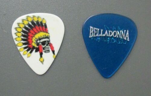Belladonna guitar picks TWO Joey Belladonna of Anthrax !