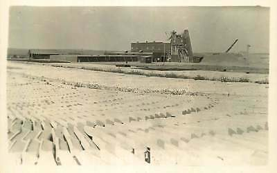 Real Photo Postcard Concrete Casting Plant? Ogallala, Nebraska - circa 1930s