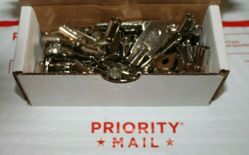 LOT of 50 NEW Tubular Key Blanks 1137S/137S Chicago-ACE-Locks MADE IN USA by HPC