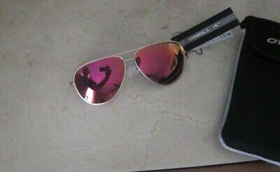 O'neill Aviator Sunglasses Polarized lens Gold Frames (Oneill Sunglasses)