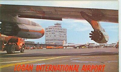 East Boston Massachusetts Logan International Airport From Tarmac  Mp 735
