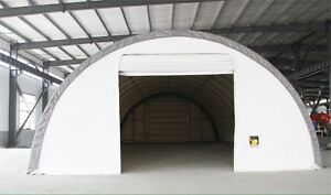 Cover all storage building 30x60x15