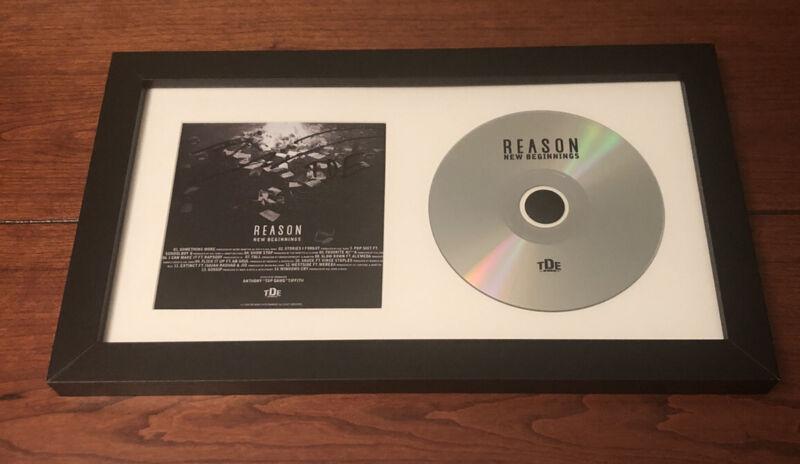 REASON RAPPER SIGNED NEW BEGINNINGS CD ALBUM AUTOGRAPH (Kendrick Lamar TDE)