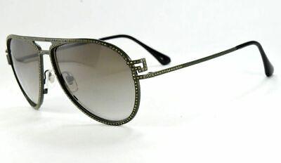 Versace Aviator Sunglasses 2171 B 1392/8E Matte Green / Green Gradient  Lens
