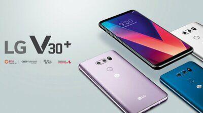 """New *UNOPENED* LG V30+ H930DS 128G  6.0"""" 4G LTE GLOBAL Smartphone/128G/Black"""