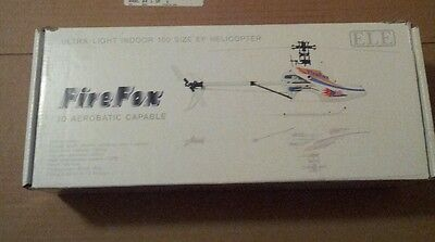 Firefox 3D 100 size R/C helicopter 3 D ARF HOBBY ELECTRIC RC POWERED