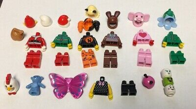 NEW LEGO HOLIDAY VALENTINES CHRISTMAS HALLOWEEN EASTER TORSO PARTS LOT FIGS
