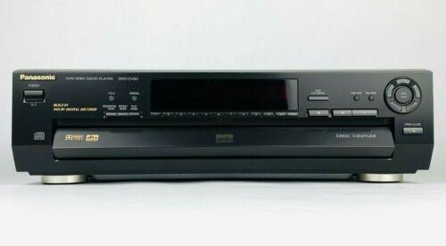 PANASONIC DVD-CV50 CD/DVD PLAYER 5 DISC CHANGER CAROUSEL - TESTED WORKS