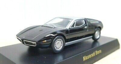 1/64 Kyosho MASERATI BORA BLACK diecast car model
