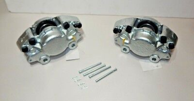 Pair 100% New 16P Brake Calipers and Hardware TR6 Healey 3000 GT6 TR4A MGC