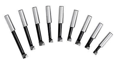 WABECO Bohrstangen Set 10 mm Bohrstahl für Ausdrehkopf Ausbohrkopf Bohrkopf