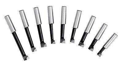 WABECO Bohrstangen Set 12 mm Bohrstahl für Ausdrehkopf Ausbohrkopf Bohrkopf