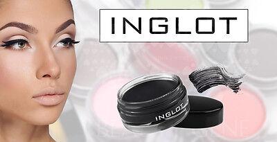 INGLOT AMC Gel Eyeliner BLACK 77 MATTE No Smudges THE