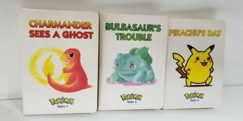 Pokemon Tales Volumes 1 3 4 LOT of 3 Pikachu