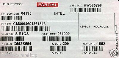 Intel CM8064601561513 SR1QS Core i7-4790T Processor 8M Cache New Bulk