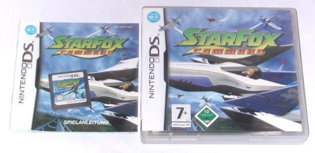 Spiel: STARFOX COMMAND für Nintendo DS + Lite + Dsi + XL + 3DS + 2DS