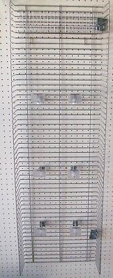 Retail Grocery Store Equipment 2 Gondola Shelving Power Wing Side Wing Panel