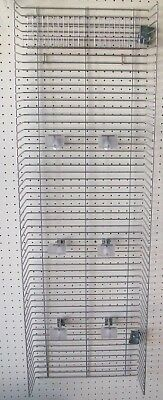 Shelving Side Panel - Retail Grocery Store Equipment 2 GONDOLA SHELVING POWER WING / SIDE WING PANEL