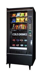 Pop and Snack Combo Vending machine
