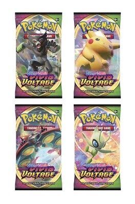 LIVE12/12 Pokemon TCG Vivid Voltage Single Booster Pack(Please Read Description)