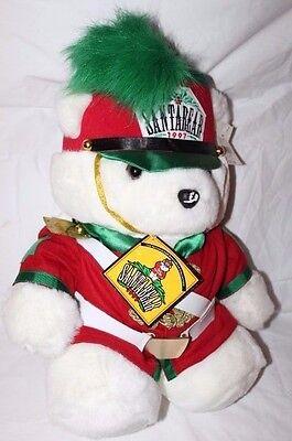 VTG 1997 Dayton Hudson The Nutcracker Santa Bear  SantaBear Red/Green/White  (Dayton The Greene)