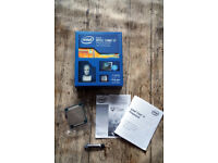 Intel i7 5820k @ 3.3ghz x 12threads/6 Core processor @ Boxed , ex. condition plus thermal paste