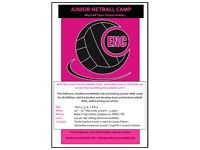 Junior Netball Camp - May half term