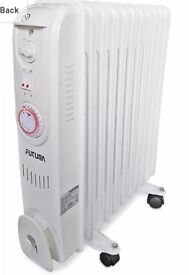 Futura 2.5KW Oil Filled Radiator Heater For sale Brand new !!!