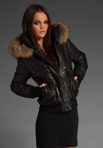 Mackage Annie Puffy Leather jacket Special edition