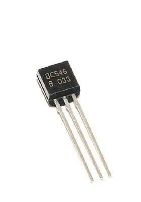 50 X Bc546b Bc546 Transistor Npn 65v 0.1a - Usa Seller - Free Shipping