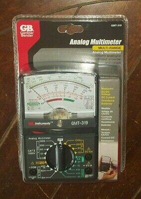 Gb Analog Multimeter Multi-range Acdc Voltagedc Currentresistance - Gmt-319