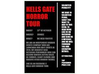 Horror actors,performers required