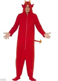 devil onesie large & small costume halloween