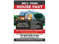 We will buy your house fast