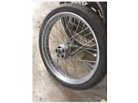 "New Harley Davidson custom 21"" front wheel"