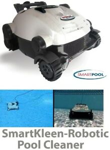 NEW SMARTKLEEN FLOOR AND COVE ROBOTIC POOL CLEANER