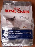 Dog Food - Royal Canin, Joint & Coat Care (1/2 bag)