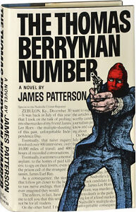 """James Patterson """"The Thomas Berryman Number"""" HardCover"""