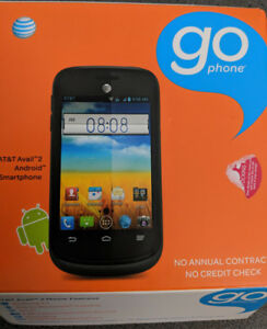 Go phone.. USA AT&T Android Smart phone