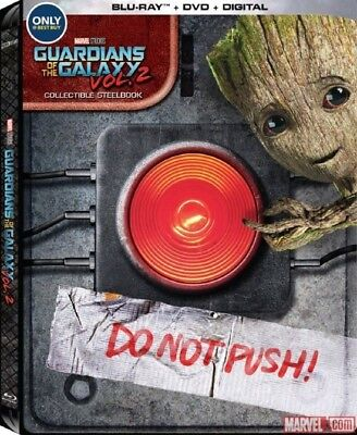 Guardians Of The Galaxy Vol 2 3D 3D  Used  Blu Ray Only Disc Please Read