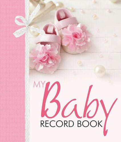 My Baby Girl Record Book Keepsake Journal Photo Album Birth To Seven Years