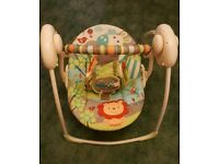 Baby bouncer swing