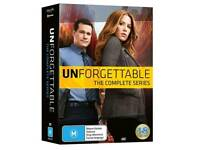 Wanted unforgettable dvd box set and psych dvd boxset