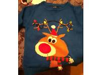 Christmas jumper aged 2-3 years
