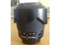 Pentax DA 18-55 F3. 5-5.6 WR