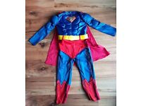 Boys superman dress up outfit