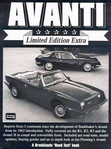 Studebaker Avanti Limited Edition Extra by R.M. Clarke Blacktown Blacktown Area Preview