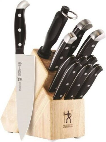 JA Henckels International 35309-000 Knife Block Set, 12-Pieces