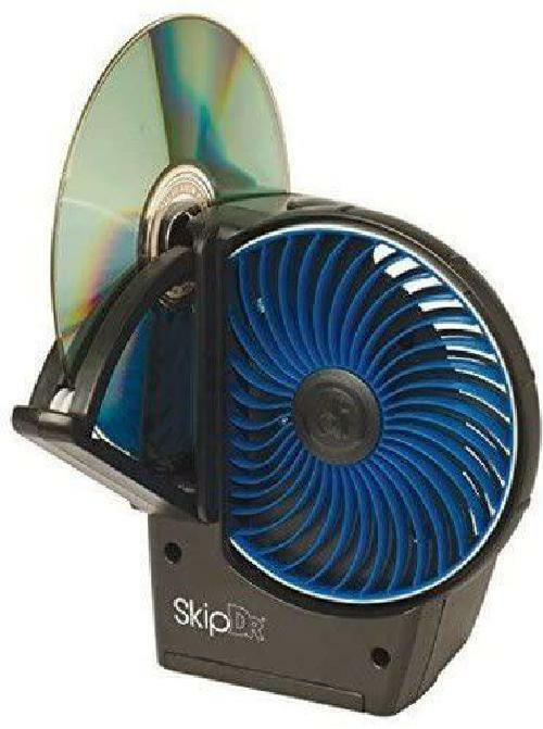SkipDR Disc Repair Machine Motorized DVD CD Scratch Remover Optical Resurfacer