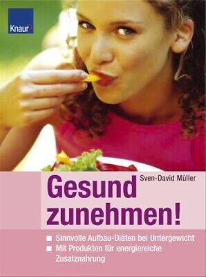 Gesund zunehmen: Sinnvolle Aufbau - Diäten bei Untergewicht mit Produkten für en